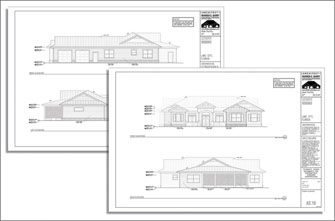 Custom Home Plans Design Process Elevation Reviews