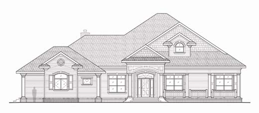 Clermont florida architects fl house plans home plans for Custom home plans florida
