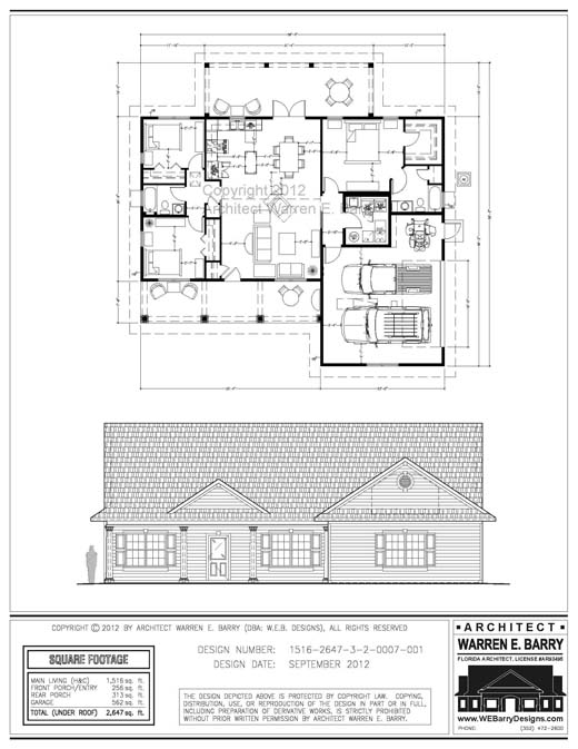 Affordable Florida House Plans