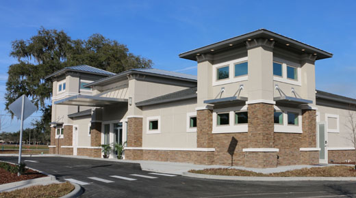 Florida Architect Urgent Care Exterior