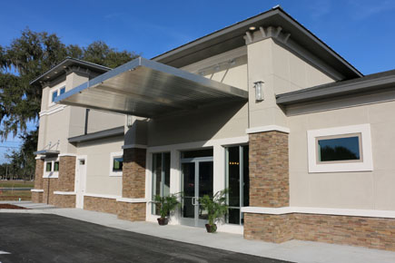 Florida Architect Urgent Care Front Entry
