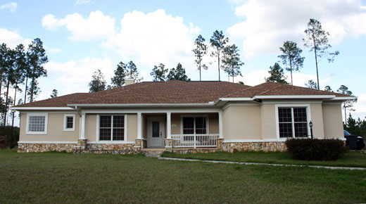 lake city architects, columbia county florida custom home design, concrete block construction