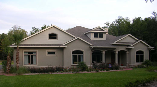 Newberry Home Plans, well insulated home design, aac block wall construction, newberry florida