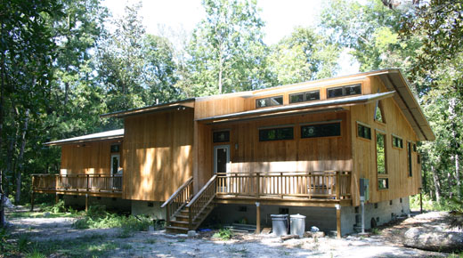 Suwannee River House Plans, contemporary florida home design, cedar wood siding, cypress wood siding
