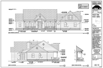 Permit Drawings Exterior Elevations Florida Architect