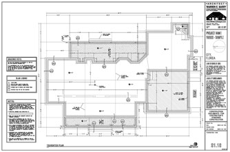 Foundation plan of home house design plans for House foundation plan