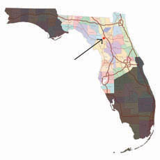 florida architects service area map and office location